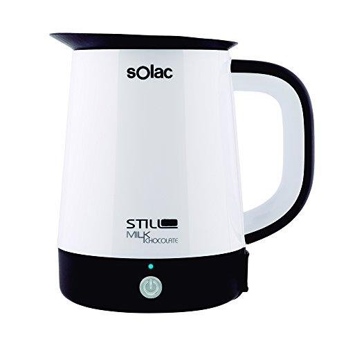 Solac Milk y Chocolate CH6302 - Calentador de leche, chocolate y cualquier tipo de liquidos, capacidad 1 L, potencia 400 W