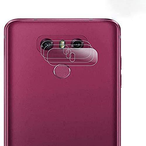 HongMan Cristal Templado para Lente Cámara de LG G6, Ultra Fino Protector...
