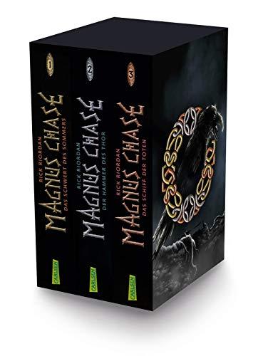 Magnus Chase: Magnus-Chase-Schuber (3 Bände im Taschenbuch-Schuber): Alle drei Bände der Bestsellerserie aus der Welt der nordischen Mythen! Für Fantasy-Fans ab 12