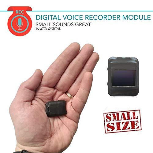 Digitale Diktiergeräte Stimmenaktivierter 8GB Rekorder- 570 Stunden   HD Stimme 1536kbps   20 Stunden Batterie   Wählbare Aufnahmequalität
