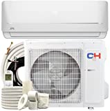 Cooper & Hunter 9,000 BTU, 115V, 19 SEER Ductless Mini Split AC/Heating System MIA Series Pre-Charged Inverter Heat Pump with 16ft Installation Kit