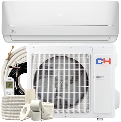 Cooper & Hunter 9,000 BTU, 115V, 19 SEER Ductless...