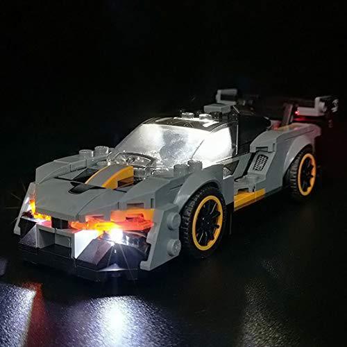 SESAY Juego de iluminación para coche Lego 75892 Speed Champions McLaren Senna, juego de iluminación LED compatible con Lego 75892 (sin set Lego)