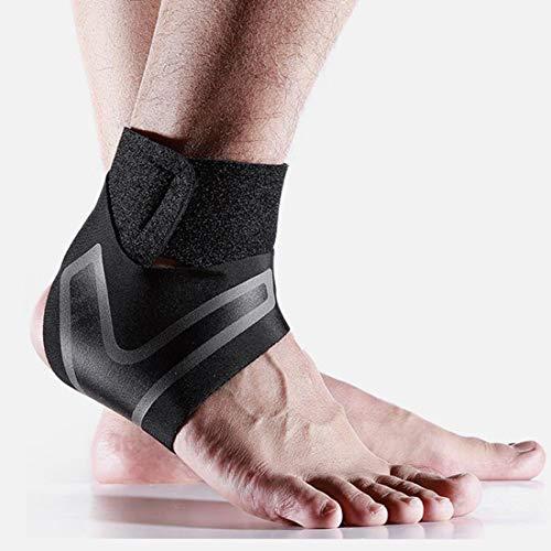 Knöchelbandage Sprunggelenkbandage, Sprunggelenk Fußgelenk Fersenschiene, Fußbandage, Knöchelunterstützung für Damen und Herren, linker und rechter Fußgelenkstütze für Laufen, Basketball, Fußball