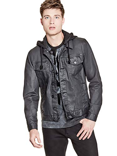GUESS Factory Men's Rakim Denim Jacket