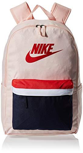 Nike Heritage Rucksack 2.0, Unisex-Erwachsene, Rucksack, Heritage Backpack - 2.0, Echo Pink/geschwärztes Blau/University-Rot, Misc