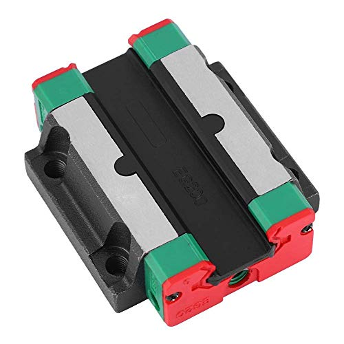 Best Price! KONGZIR Linear Rail Sliding Block, EG20 Guide width 20mm/0.8in Guide Rail Slider Linear ...