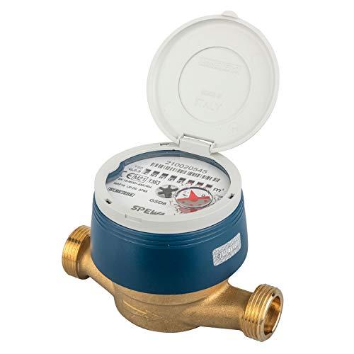 Contador de agua resistente a las heladas y calibrado con cubierta de...