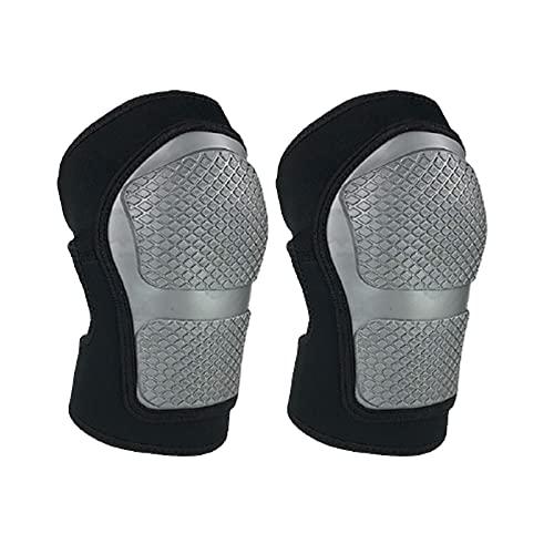 Shower Caddies Professionelle Kniepads, Reitrolle Skating Weiche Kniepads, bequem atmungsaktiv einstellbar, for Erwachsene und Kinder