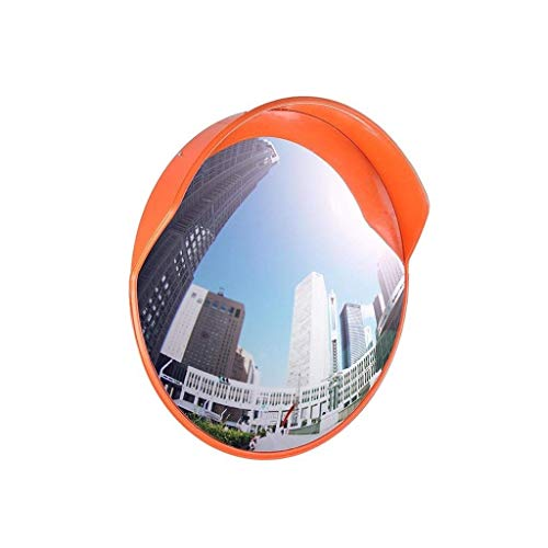Pool Safety Spiegels Parkeerplaats Corner Safety Mirror, Weerbestendig Outdoor bolle spiegel Ronde PC Mirror wegverkeer spiegel met een diameter: 45-120CM met spiegel Beschermende Film (Grootte: 60cm)