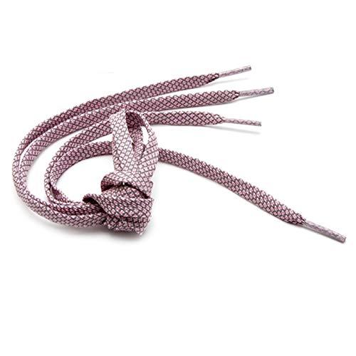 2 pares de cordones reflectantes armadura trenzada pulsera zapatillas de deporte zapatos de correr de encaje adultos niños zapatos cuerdas 9mm