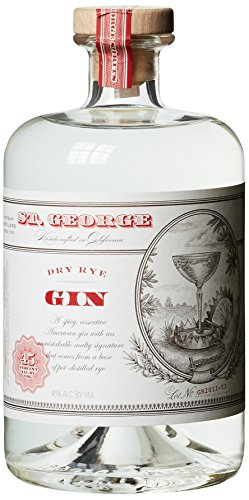 St. George Dry Rye Gin, 1er Pack (1 x 700 ml)