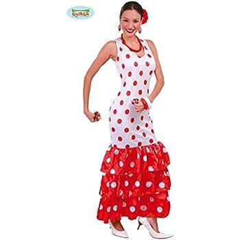 Fyasa 706163-t04 Flamenca disfraz, azul, grande: Amazon.es ...