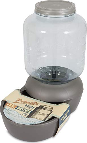 Petmate Replendish Mason Gravity Waterer Cat and Dog Water Dispenser 4 Sizes