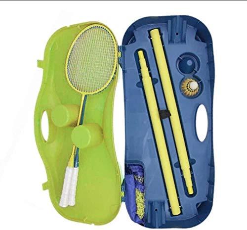 LILAODA Tragbares Badminton-Tennisnetz Standardhöhe 1,55 M PP PVC mit Ständer Perfect