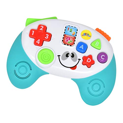 Number 1 in Gadgets Baby Remote Toy Game Controller, Musical Toys Light and Sound Early Educational Learning for Infants