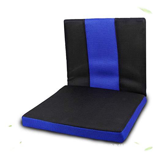 HBGGGGG Rollstuhl-Sitzkissen Anti-Dekubitus-Kissen Honeycomb Kühl und Ventilated, rutschfest, Sitzkissen, Lindert Ischias und Steißbein Schmerz