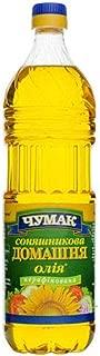 Chumak Sunflower Oil Unrefined (33.8 Fl Oz / 1 Litre) Imported from Ukraine