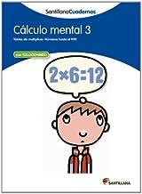 CALCULO MENTAL 3 SANTILLANA CUADERNOS - 9788468012391
