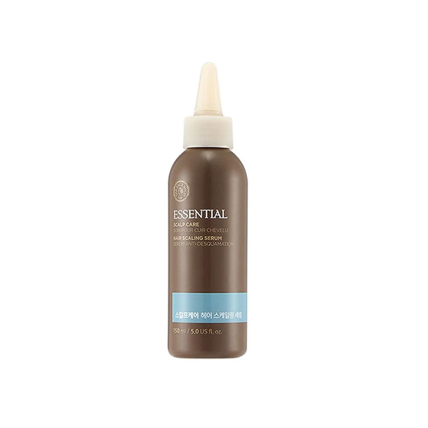 旅客切り離すリース[ザフェイスショップ] The Face Shop エッセンシャルスカルプケアヘアスケーリングセラム150ml The Face Shop Essential Scalp Care Hair Scaling Serum 150ml [海外直送品]