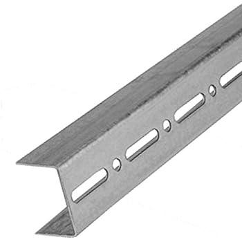 C Profil 100mm 3m CW Wandprofil Metall Trennwand Gipskarton Montage St/änderwerk