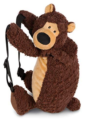 NICI 44073 Rucksack Grizzlybär Criz Lee figürlich, Braun