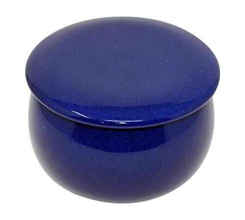 original französische wassergekühlte keramik butterdose, 125gr, ecc bauch klein