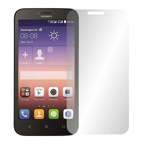 Slabo 4 x Bildschirmschutzfolie für Huawei Y625 Bildschirmfolie Schutzfolie Folie Zubehör Crystal Clear KLAR
