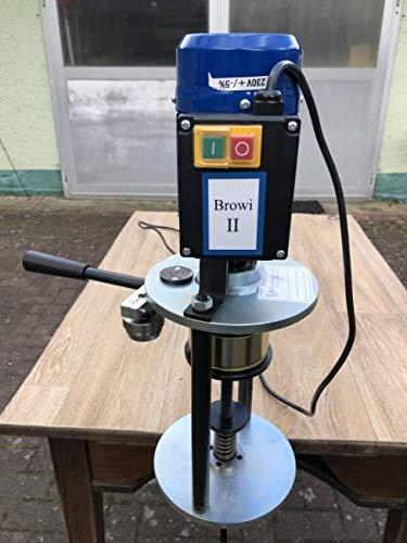 HGB Maschinen und Geräte Elektrische Tisch-Dosenverschließmaschine BROWI 2