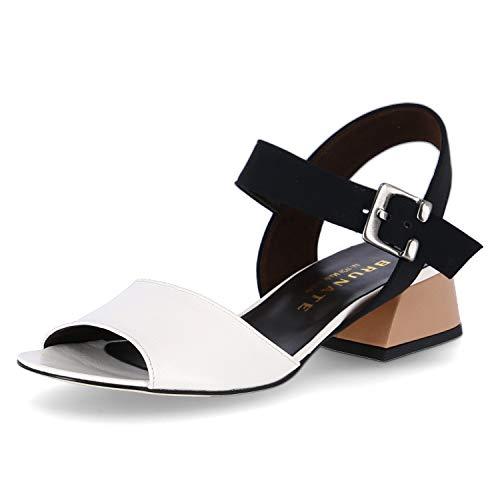Brunate Sandaletten Größe 37.5 EU Weiß (Weiß)