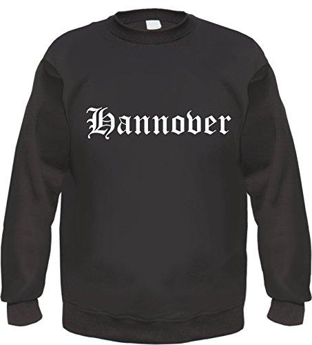 HB_Druck Hannover Sweatshirt Pullover M Schwarz