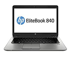 (Renewed) HP Elitebook 840 G2 14-inch Laptop (5th Gen Core i5/8GB/256GB/Windows 10 Professional/Integrated Graphics), Black,hp,840 G2,14 inch laptop,Business laptop,HP 840 G2 laptop,HP laptop,HP laptop core_i5 5th gen,HP laptops core_i5 5th generation,Windows 10 Professional laptop,computer,notebook computer