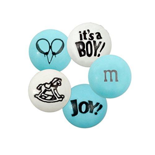 Baby Boy Custom M&M'S 2lb Bulk Candy Bag