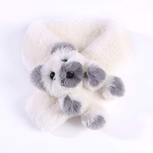 Alvnd kinder cartoon winter zachte warme sjaals okselzukken sjaal mode dames en kinderen warme ouder-kind-stijl (27,5 inch L x 3,9 inch W) 70×10CM I