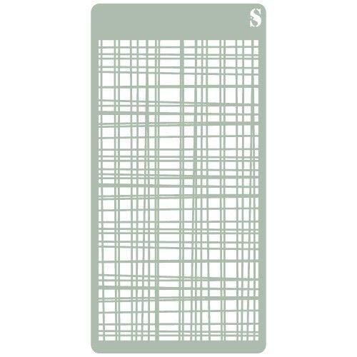 TODO-STENCIL Stencil Deco Scrapbooking 107 Textura Medidas exteriores: 10x20 Medidas internas diseño 9 x 17 cm