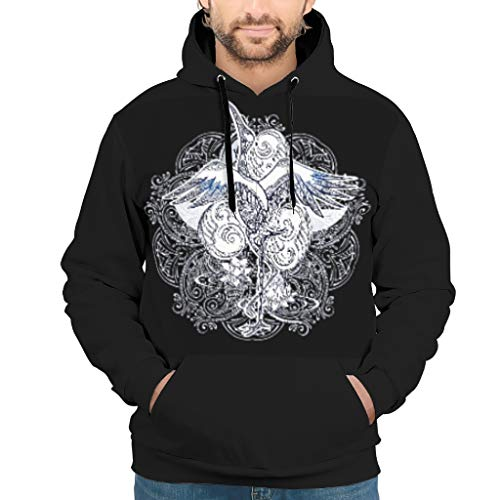 Fashion Various Types Hoodies with Classic Fit Hushand Wife White XL