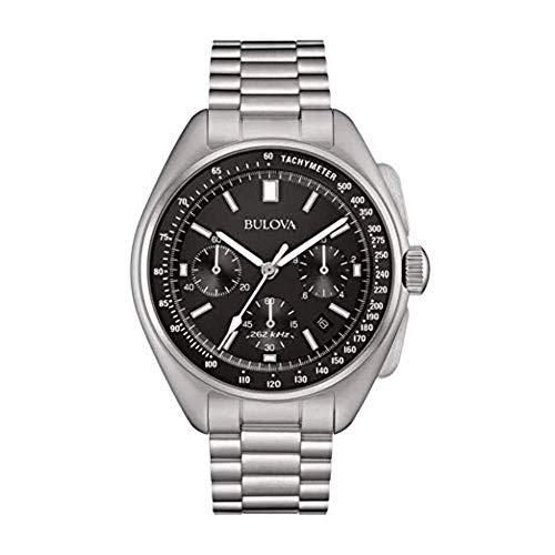 Bulova Herren Armbanduhr Chronograph Lunar Moon Watch Pilot 96B258