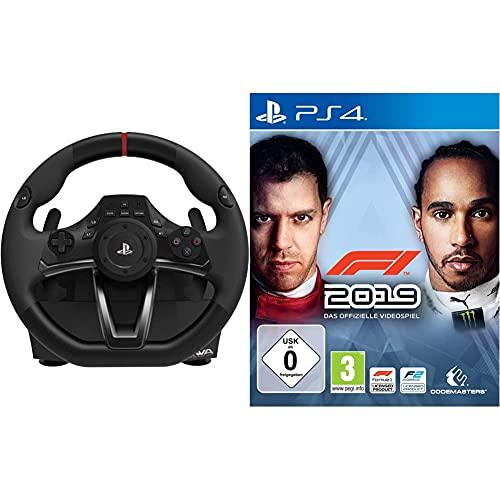 RWA: Racing Wheel APEX (Lenkrad für PS4/PS3/PC) [PlayStation 4, PlayStation 3, Windows 8, Windows 7, Windows XP] & F1 2019 [PlayStation 4]