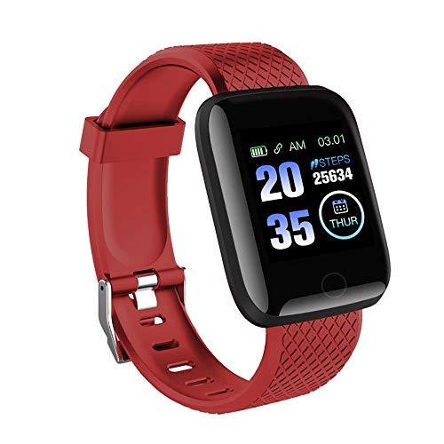 Ajcoflt Smartwatch, Smartwatch Impermeabile Ip67 per Uomo E Donna, Orologio Sportivo per Il Monitoraggio della Frequenza Cardiaca E Rilevamento del Sonno, Support English