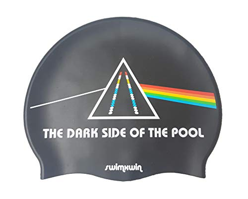 Cuffia in Silicone The Dark Side of The Moon | Cuffia da Nuoto | Cuffia da Piscina | Grande Comfort e Aderenza | Design e Stile Italiano