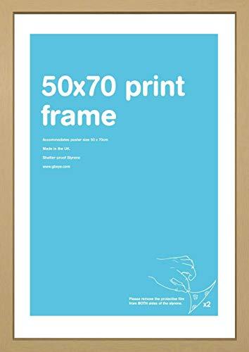 GB Eye LTD FMZ4A1OK Eton - Marco de Foto, color Roble, 50x70cm