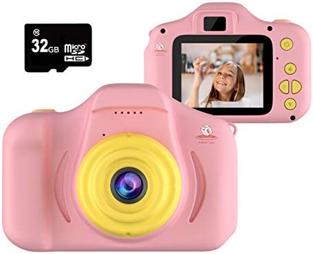 EMAAS Kids Camera Children Digital Camera for Kids Selfie Camera for Girls and Boys Age 3 4 product image