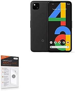 Protetor de tela para Google Pixel 4a, BoxWave [ClearTouch antirreflexo (pacote com 2)] Película fosca anti-impressão digi...