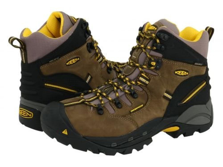 [キーン] Utility メンズ 男性用 シューズ 靴 ブーツ 安全靴 ワーカーブーツ Pittsburgh Boot - Slate Black/Grey [並行輸入品]