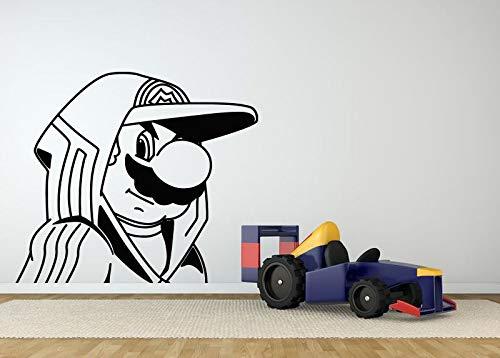 yaonuli kartonnen muur kamerdecoratie vinyl sticker muurschildering sticker gangster videospel