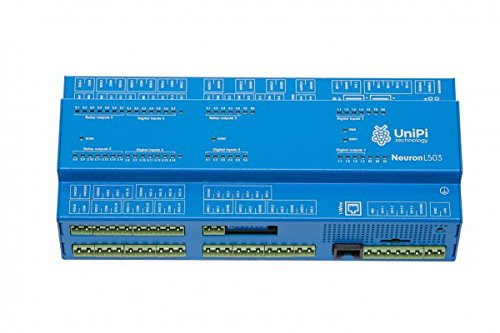UniPi Neuron L503 (incl. Raspberry Pi 3) - Monitor & Manage Anything - AddOn Expansion Board for Home Automation, Monitoring, Data Collection, Motor Control, etc