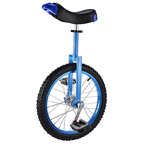 Fhdisfnsk Monociclo con Ruedas De 18'para Exteriores, para Niños Y Niñas, para Principiantes, para Adultos/Niños Grandes, Llanta De Aleación De Aluminio Y Acero Al Manganeso