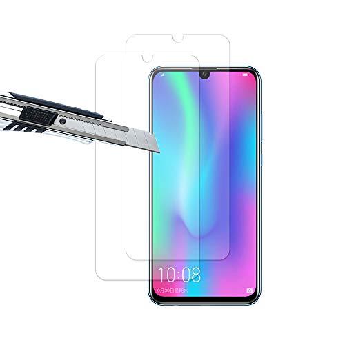 THILIVE Huawei Honor 10 Lite/Honor 20 Lite/P Smart 2019 Panzerglas, Displayschutzfolie panzerfolie, Folie gehärtetem Glas,9H Härte,Kratzfest,Glasfolie Glas Schutzfolie (2 Stück)-klare