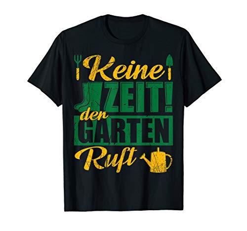 Herren Der Garten ruft - Hobbygärtner Garten Gärtner Geschenk | T-Shirt