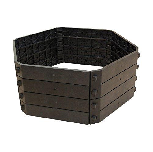 KHW Komposter Schnellkomposter 550 L, Grundvariante, schwarz